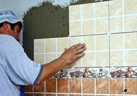 Керамическая плитка для облицовки стен