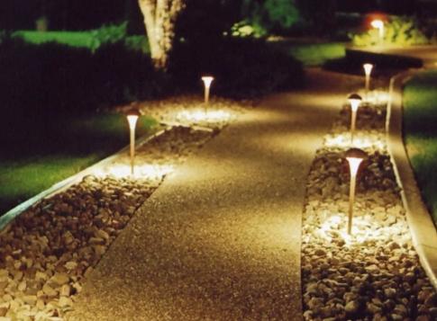 Ландшафтное освещение: полезные советы