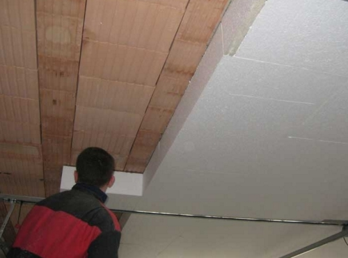 Как правильно провести утепление потолка своими руками?