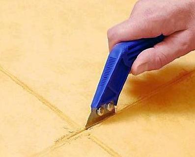Как восстановить швы между керамическими плитками