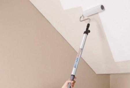Выбор валика для покраски потолка водоэмульсионной краской