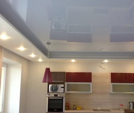 Натяжные потолки: современный офисный вариант