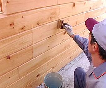 Чем можно обработать деревянную вагонку