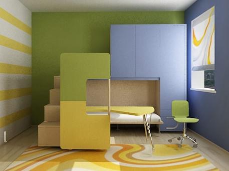 Дизайн детской комнаты: основные принципы