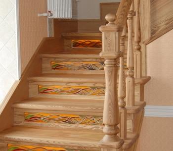Изготовление лестницы из бука – практичность, красота, прочность