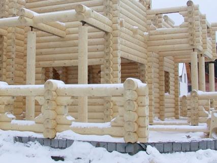 Стоит ли строить деревянный дом зимой?