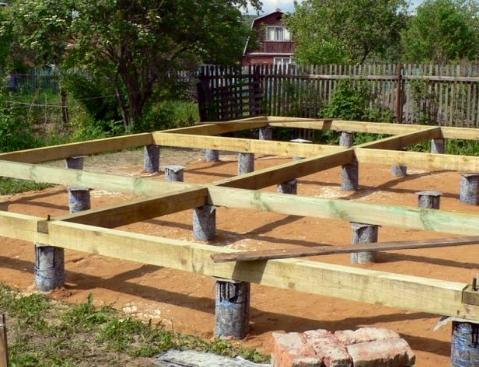 Строительство столбчатого фундамента: преимущества и ограничения