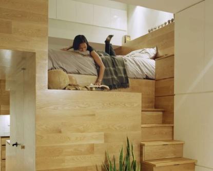 Как в маленькой спальне рационально использовать пространство
