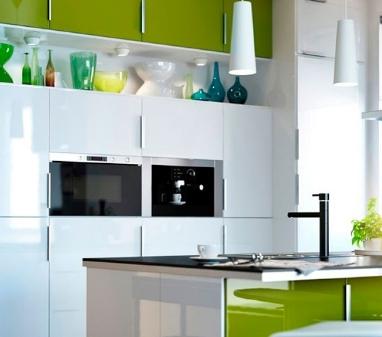 Современные дизайнерские решения маленькой кухни