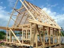 Как построить деревянный каркасный дом