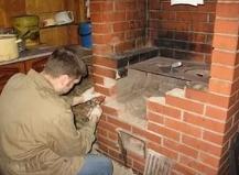 Самостоятельный ремонт русской печи