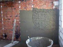 Как оштукатурить стену цементно-песчаной штукатуркой