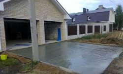 Как построить бетонную площадку