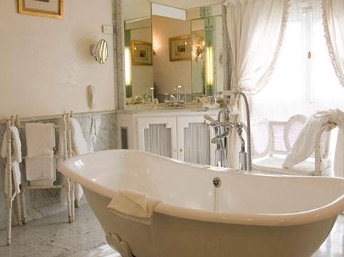 Отделка ванной комнаты в «прованском стиле»
