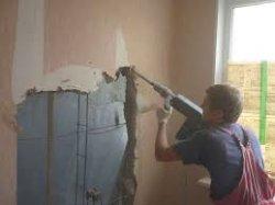 Перепланировка и бетонные стены