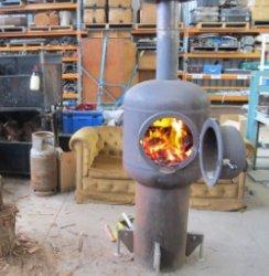 Как сделать дровяную печь