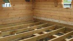 Как построить деревянное перекрытие
