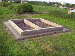 Как построить фундамент под баню