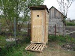Простой дачный туалет своими руками