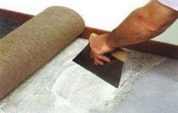Как отделать пол ковролином