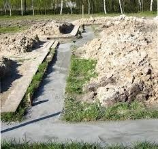 Строим ленточный фундамент без опалубки