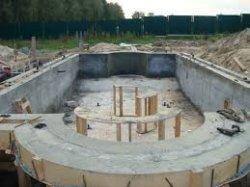 Как построить бетонный бассейн