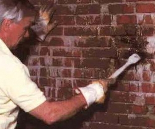 Герметизация мокнущих стен