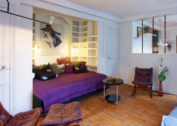 Принципы оформления квартиры-студии