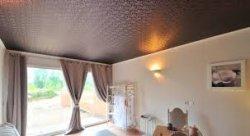 Натяжной потолок. Пленка или ткань