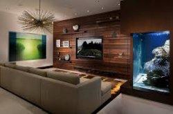Чем можно отделать стены гостиной