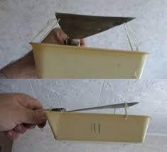 Как снять побелку с потолка