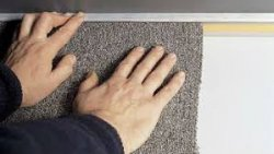 Отделка стен помещений ковровым покрытием