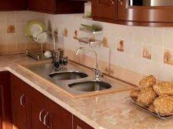 Как отделать кухонный фартук