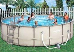 Достоинства каркасных бассейнов