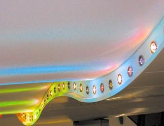 Натяжные потолки - новое дизайнерское решение