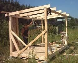 Как построить деревянную бытовку