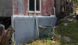 Отделка фасада дома асбестовым листом