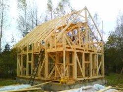 Немного о строительстве каркасного дома