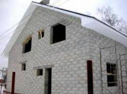 Строительство дома с использованием газобетонных блоков