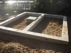 Как построить фундамент под срубную баню