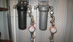 Как установить фильтр для очистки воды