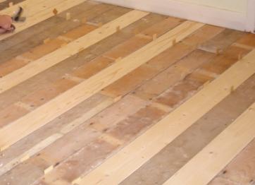 Самостоятельный ремонт деревянных полов