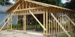 Как построить каркасный гараж