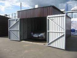 Строим металлический гараж своими руками