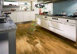 Ламинат для отделки пола кухни
