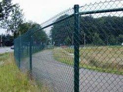 Как сделать забор из сетки