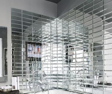 Зеркальная плитка и её достоинства