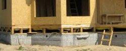 Как построить фундамент под каркасный дом