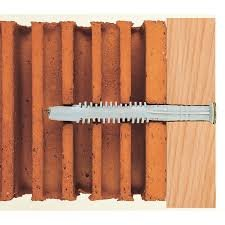 Как ставить дюбеля в кирпичные стены