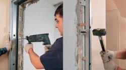Как установить алюминиевую дверь